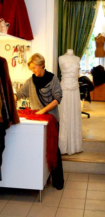 Marica Andric på Mansa Syateljé & Boutique